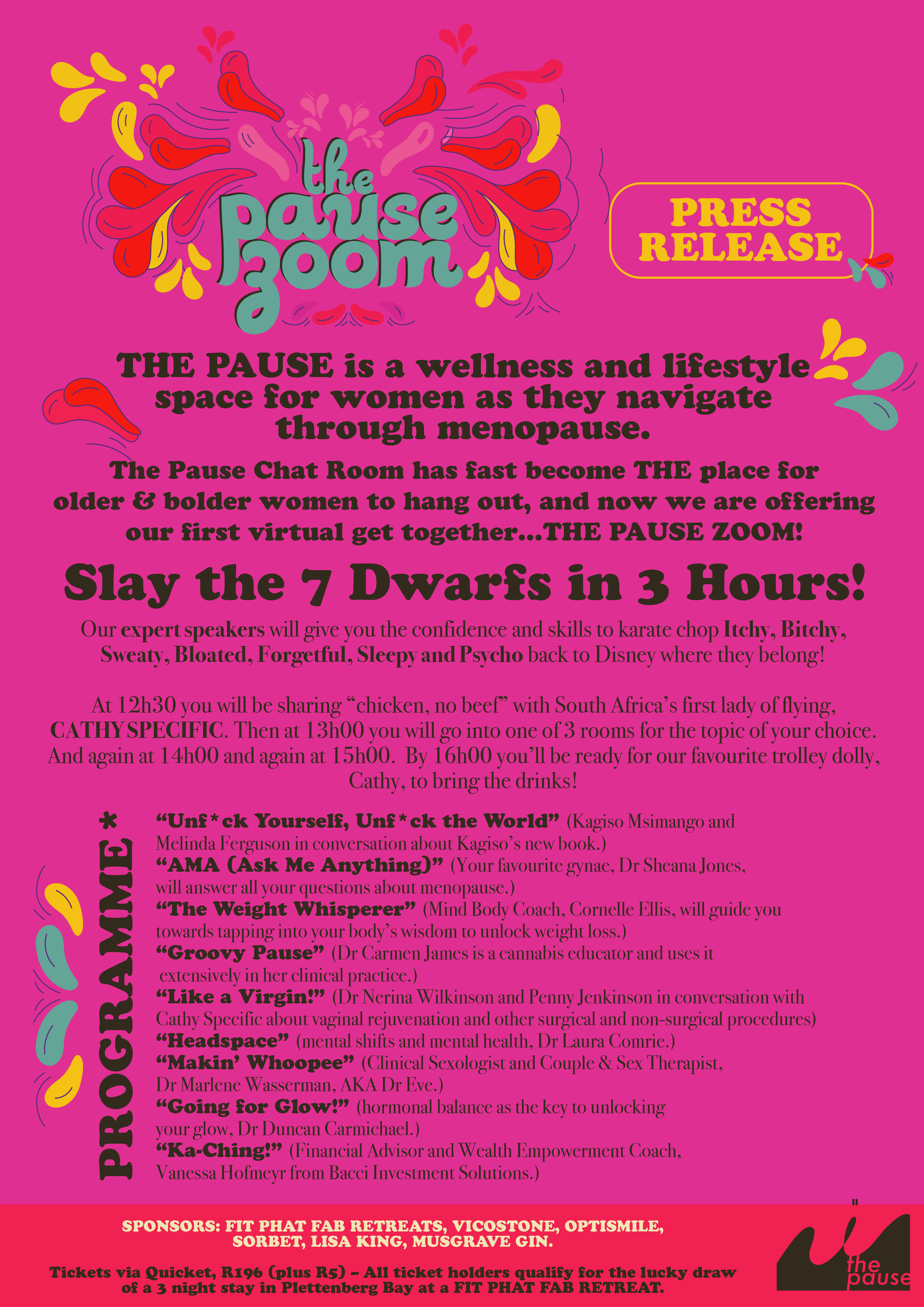 The Pause Zoom Programme